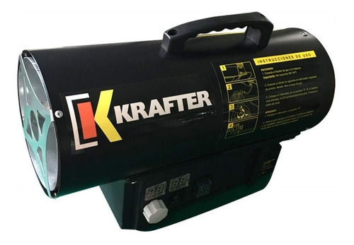 turbocalefactor a gas 15 kw krafter  1810000001513 krafter