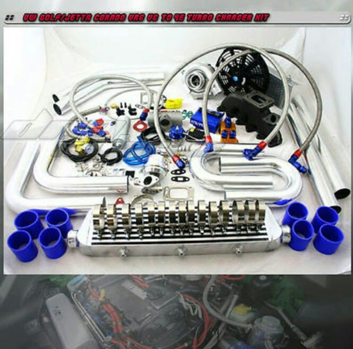 turbocargador kit completo  instalacion vr volkswagen  en mercado libre