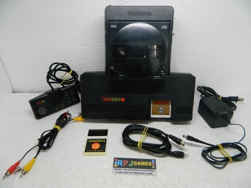 turbografx na maleta pronto jogar cd defeito leia anuncio