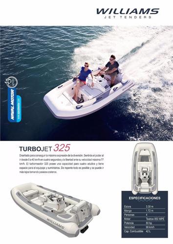 turbojet 325 - williams jet tender