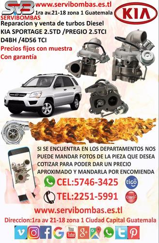 turbos diésel kia bongo 3  2.9 j3 tf035 passenger 28200-4x65