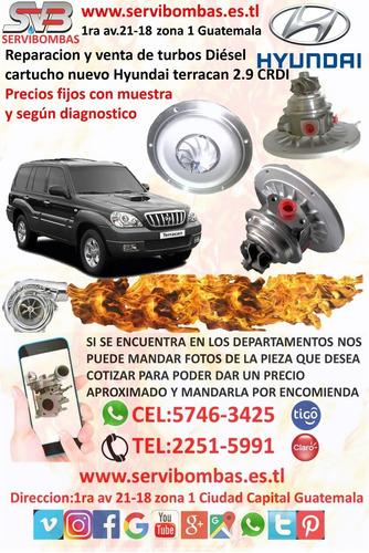 turbos hyundai terracan 2.9 crdi diesel guatemala