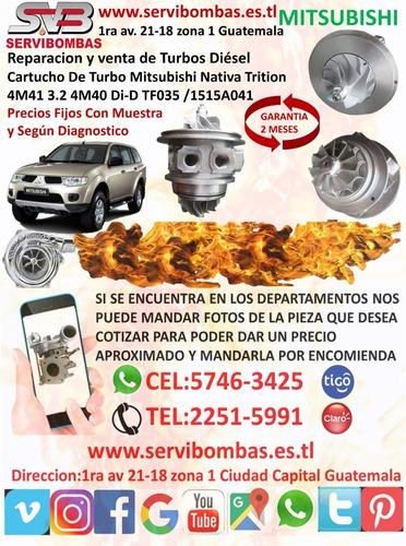 turbos mitsubishi nativa trition 4m41 di-d 3.2 guatemala