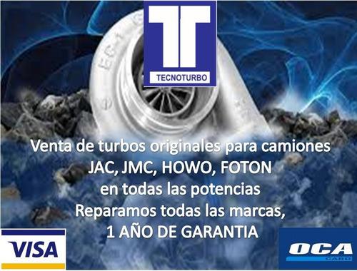 turbos - servicio de reparación y nuevos