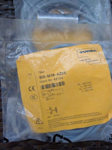 turck bi5-m18-az3x sensor inductivo bi5m18az3x
