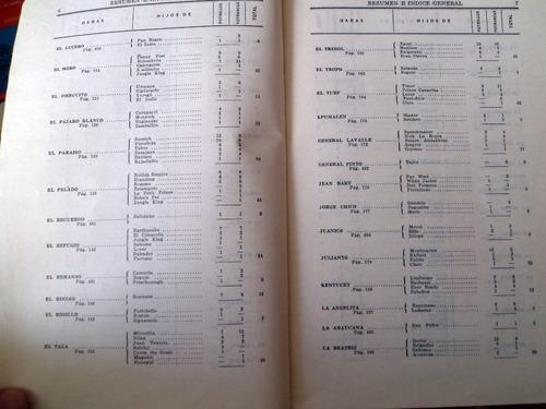 turf catalogo pura sangre abulrrich año 1961