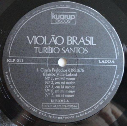 turíbio santos - violão brasil