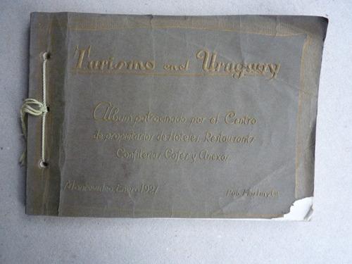 turismo en el uruguay. álbum 1927