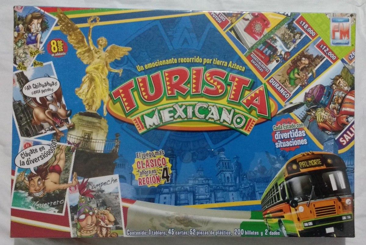 Turista Mexicano Juego De Mesa Nuevo Y Sellado 145 00 En Mercado