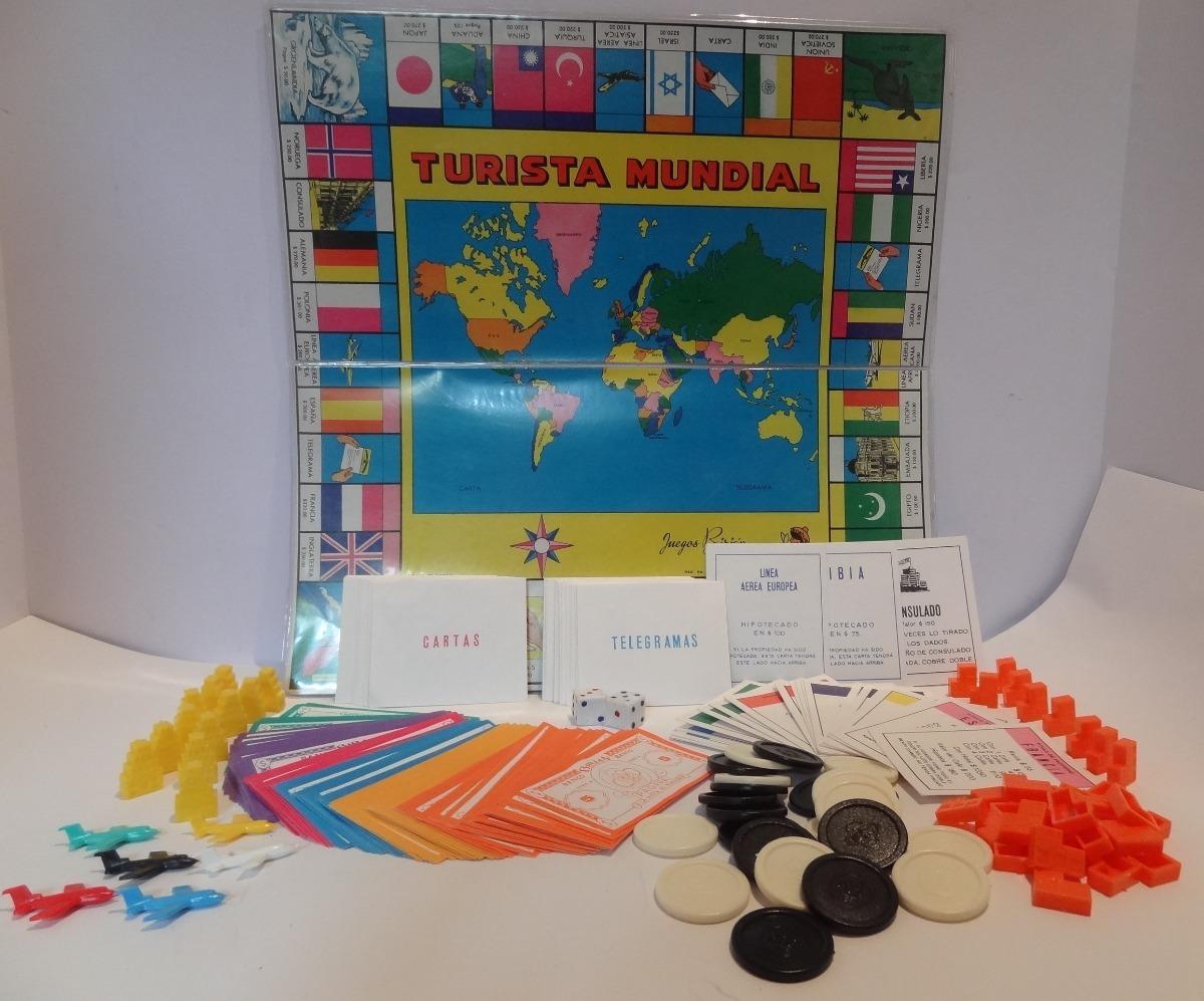Turista Mundial 80 S Juego De Mesa Vintage 2 000 00 En Mercado Libre
