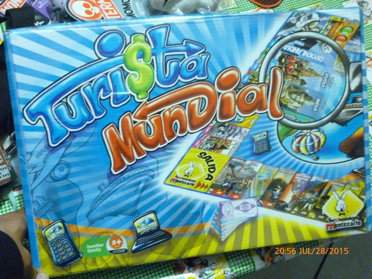 Turista Mundial Juego De Mesa 150 00 En Mercado Libre