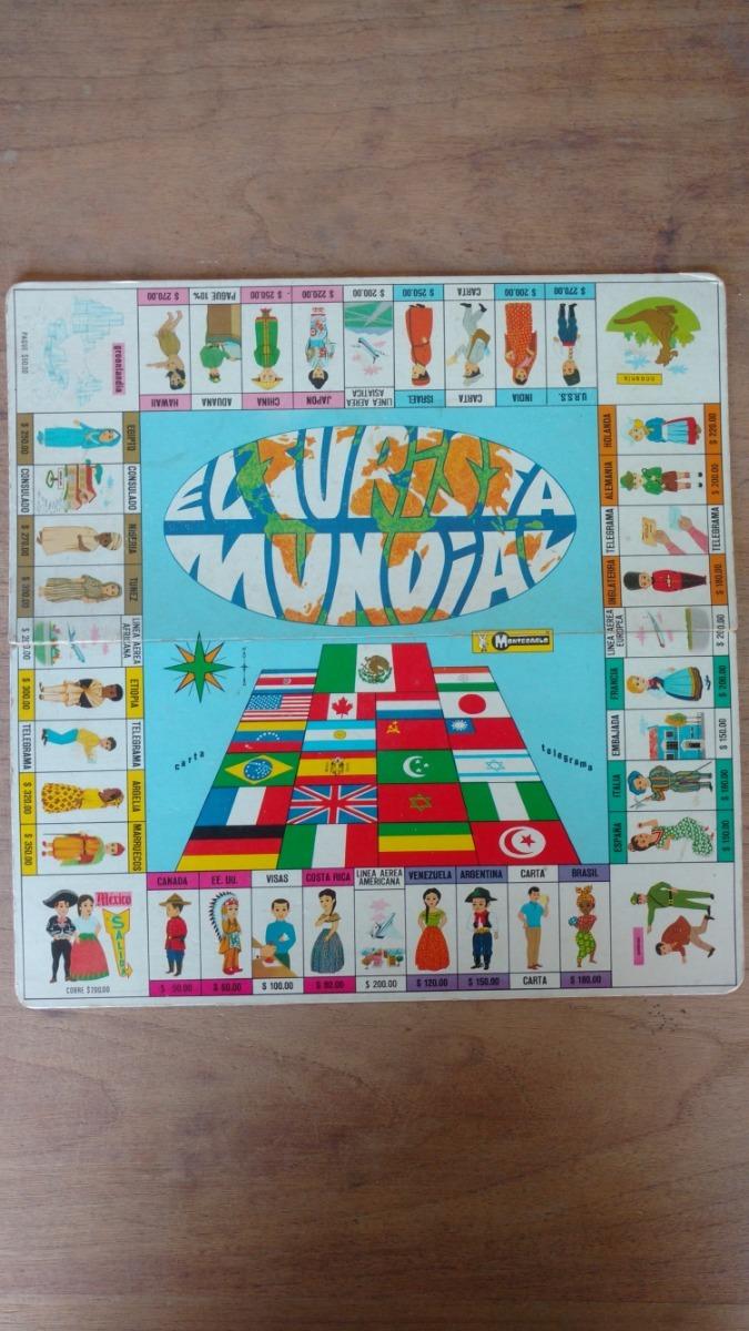 Turista Mundial Juego De Mesa Antiguo Coleccionable 590 00 En