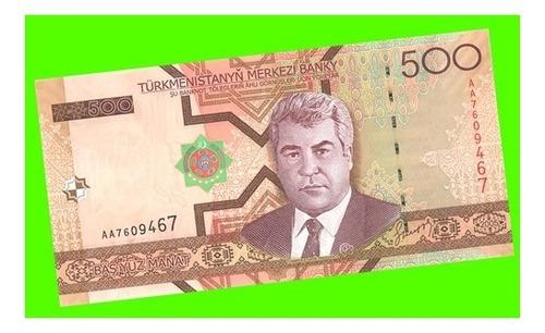 turkmenistán - billete de 500 manat 2005 ¡ sin circular !