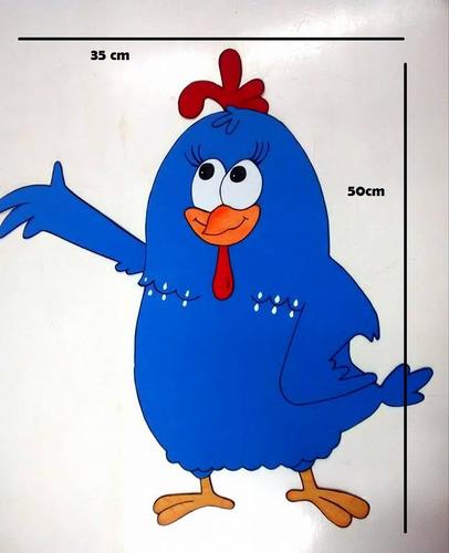 turma da galinha pintadinha para festas em eva