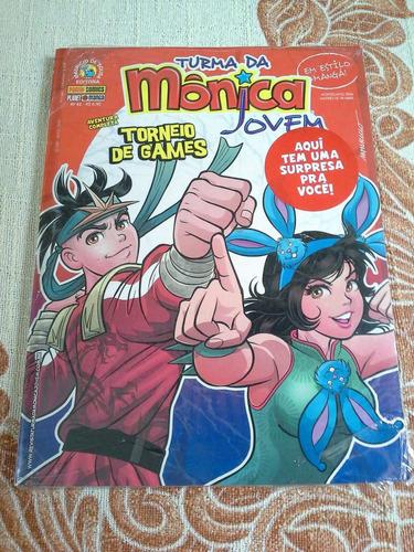 turma da mônica jovem nº 42 - lacrada!!! baú comic shop