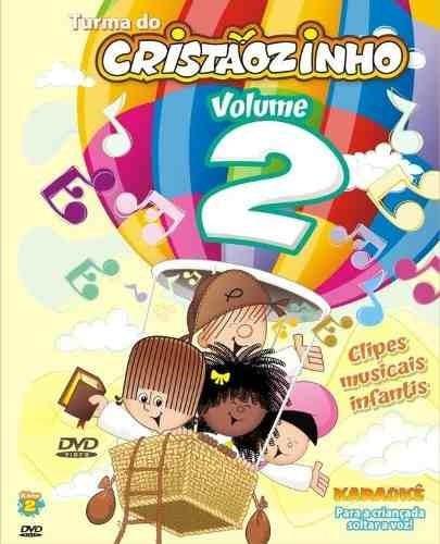 turma do cristãozinho vol 1 e vol 2 + karaokê dvd  original