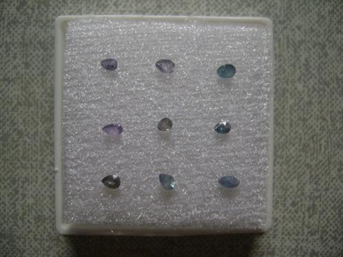 turmalina paraiba cores variadas ótimas para presentes