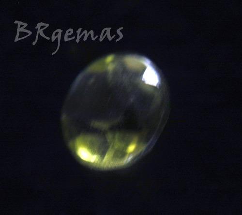 turmalina verde - lapidada  - redonda - 2.5 mm