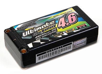 turnigy nano-tecnología ultimate 4600mah 2s2p 90 c hardcase