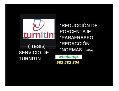 turnitin - tesis