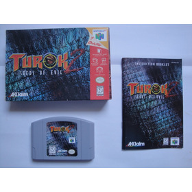 Turok 2 - Seeds Of Evil - Nintendo 64 - Impecável