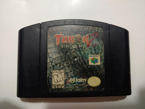 turok 2 juego de nintendo 64 n64