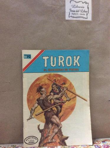 turok año vii no 125 - 155 cómic antiguo