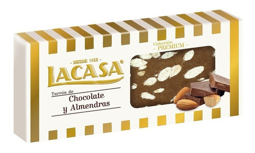 turrones lacasa español chocolate almendra envio gratis caba
