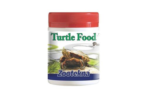 turtle food - ração (tartaruga) - 250g
