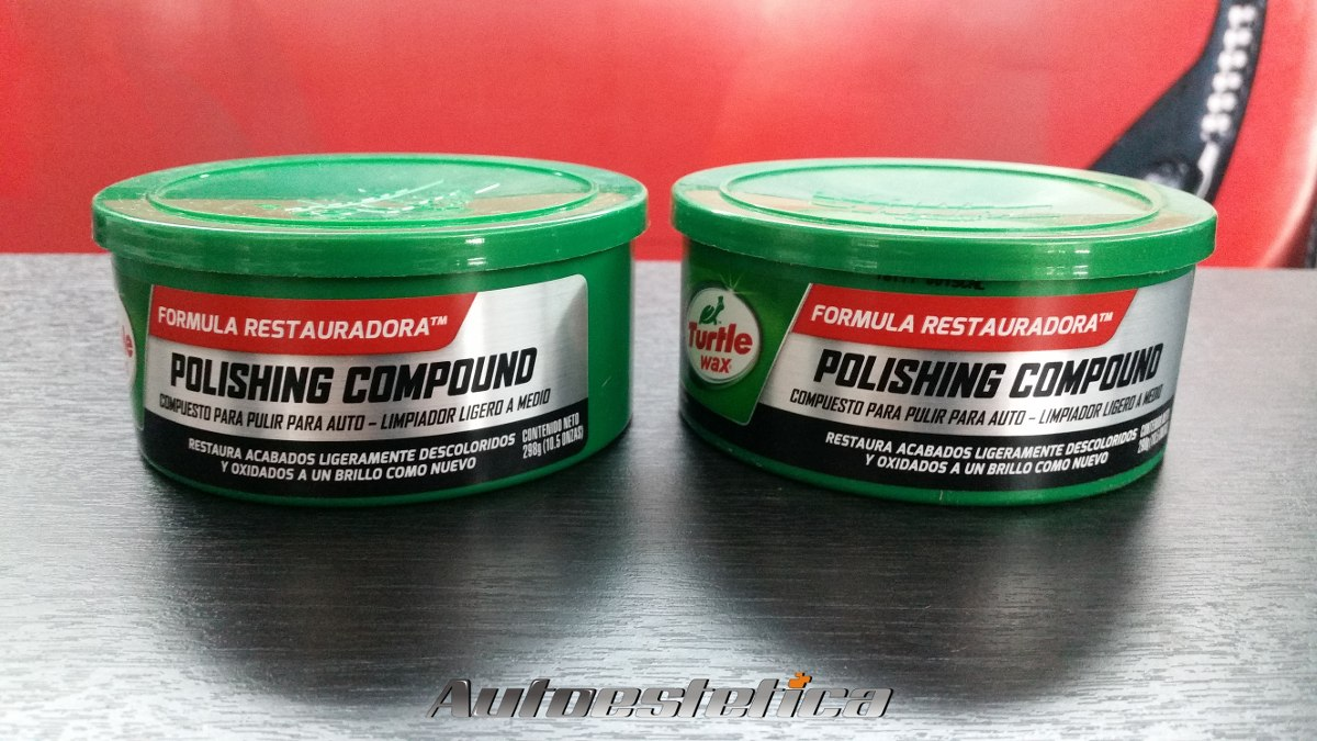 Turtle Wax Pasta De Pulir Media Polishing Compound - $ 214,00 en ...