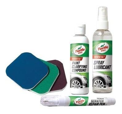 turtle wax scratch kit de reparación de rayaduras