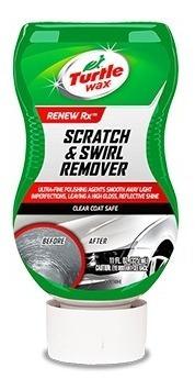 turtle wax scratch & swirl remover pulidor suave 325ml