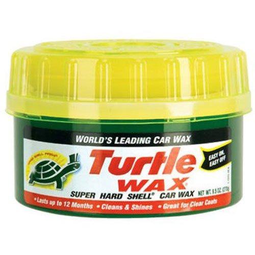 turtle wax t 223 super cera dura de pasta shell  9.5 oz
