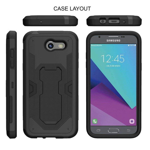 turtlearmor | samsung galaxy j emerge case | j  cli...
