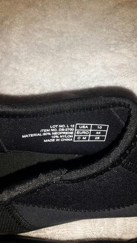 tusa botines o zapatos para buceo talla 10 americana 42 43