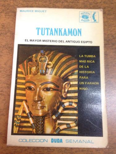 tutankamon / maurice miguet