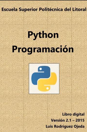 Pdf de programación el tutorial de python 3.