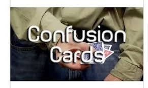 tutorial original de magia kris nevling - confision card