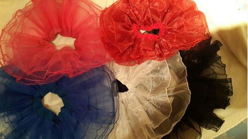 tutu ballet para niñas rojo azul rey blanco fucsia y rosado