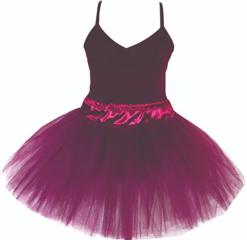 tutu ballet rosa rojo turquesa negro amarillo bordo etc