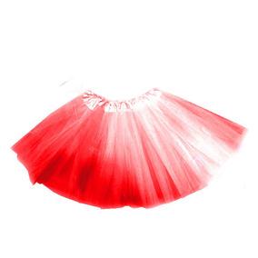 ae371a498 Tutu Brillo Rojo Falda Disfraz Fiestaclub
