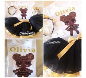 Tutu Negra Y Dorado Disfraz Queen Bee Lol Personalizado ZuPkXwTOi