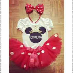Tutu Disfraz Vestido Minnie Mini Mouse