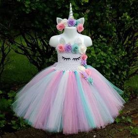 Tutu Dress Vestido Unicornio Tallas 1 A 6 Años
