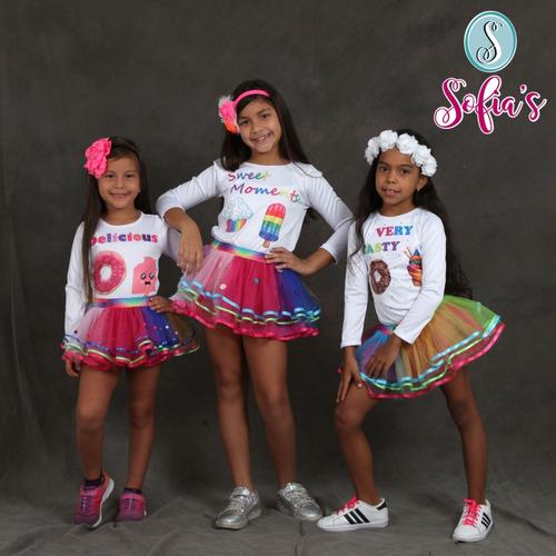 tutu/ falda para niñas