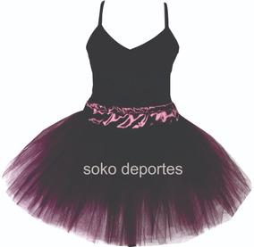 44e35ca23 Tutu + Malla Danza Tiras Finas Ballet
