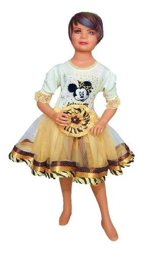 tutu minnie mouse animal print ropa para niña