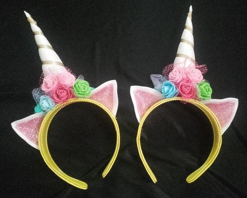 tutu, remera y vincha unicornio disfraz cotillon ch