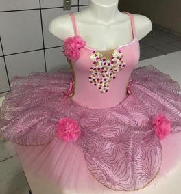 04d81126c3 Collant Ballet Bordado no Mercado Livre Brasil