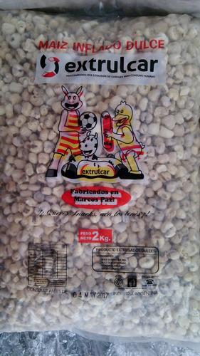 tutuca. maiz inflado azucarado x 1 kg. sin tacc